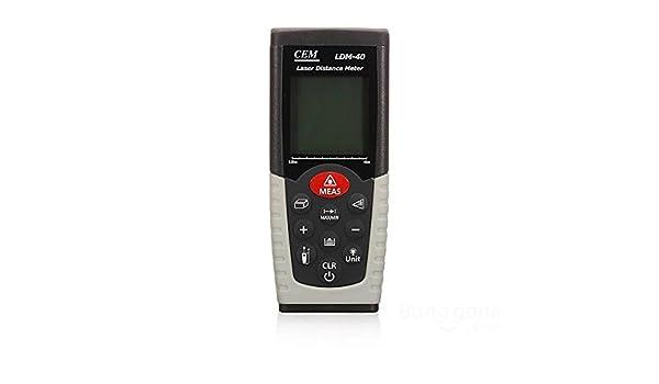 Laser Entfernungsmesser Genauigkeit 0 01mm : Amazon mark shop cem ldm laser entfernungsmesser