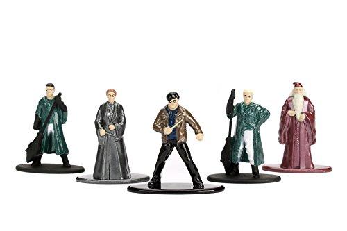 Jada Nano Metalfig Figuras de Harry Potter de pequeño tamaño, Paquete de 5 Unidades:Paquete de 2 Unidades (Harry… 3