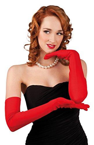 Boland 03102 Handschuhe, rot, Einheitsgröße