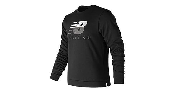 5b0fa8d8aa215 New Balance Athletics Crew Sweatshirt Herren schwarz, XXL: Amazon.de: Sport  & Freizeit