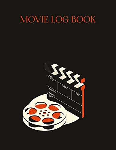 Movie Log Book: Movie Review Book to Write in, Film Criticism , For 130 Movies, Softcover, Size 8.5x11inches - Kino-130