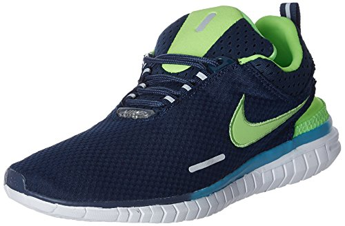 Nike Men's Free Og Br Blue and Green Running Shoes - 7.5 UK/India (42 EU)(8.5 US)(644394-404)