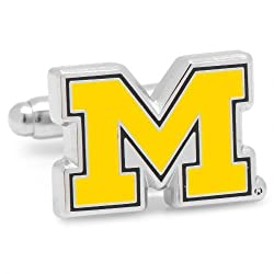 Officially Licensed Ncaa University Of Michigan Wolverines Cufflinks By Cufflinks
