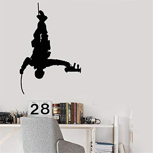 lyclff Kaffee ist eine Sprache Tasse entfernbare wandaufkleber für Kaffee Haus oder küche Vinyl wasserdicht abziehbilder Wohnzimmer ~ 1 84 * 124 cm (Vogue-kaffee-tasse)