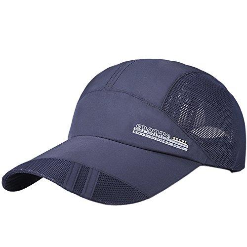 Saingace Unisex Baseball Cap Einstellbar Basecap Sommer Kappe Mesh Hüte Hip Hop Cap Sonnenhut