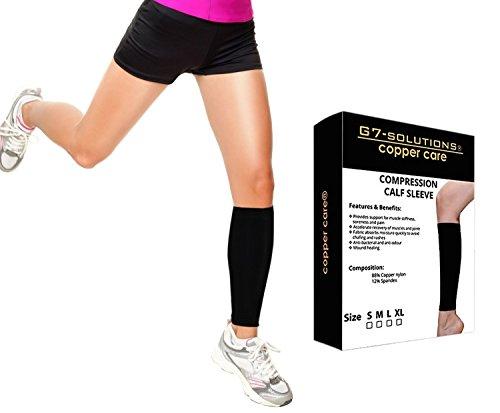 Get7Solutions Compression Copper Sleeve - Kompressionsstrecker für Männer und Frauen