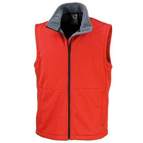 Result Core R214X Gilet Softshell Rouge - Rouge