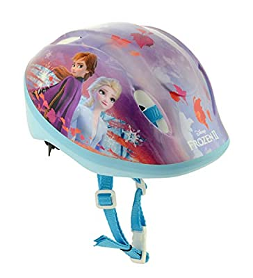 Frozen 2 Girls Safety Helmet, Multi, 48cm-54cm by MV Sports & Leisure