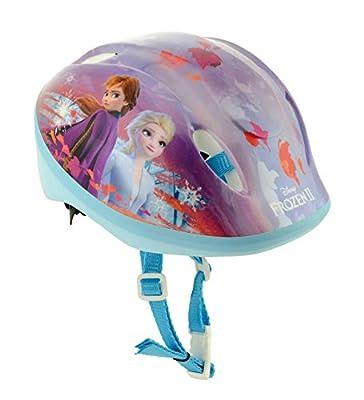 Frozen 2 Girls Safety Helmet, Multi, 48cm-54cm by MV Sports & Leisure