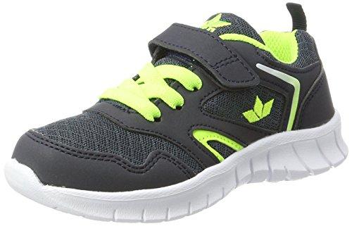 Lico Jungen Skip VS Sneaker Blau Marine/Lemon, 31 EU (Jungen Kinder Schuhe Tennis)
