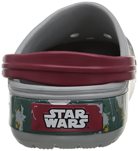 CrocsCB Star Wars Boba Fett - Zoccoli Unisex adulti Grigio (Light Grey)