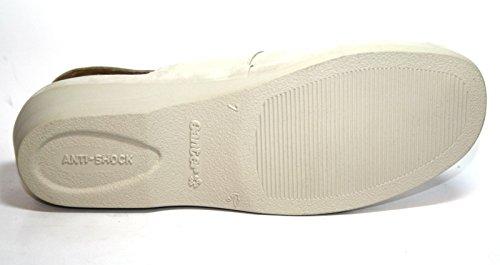 Ganter Cora 46 530 03 Comfort Damen Schuhe Sandalen, Weite F Weiß (creme)