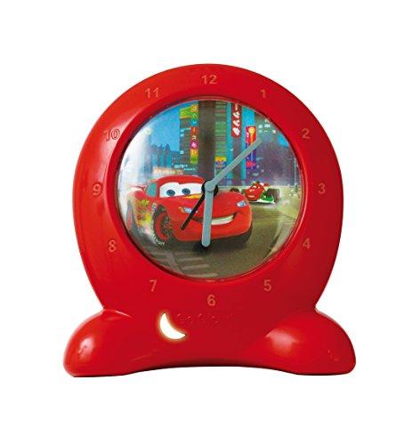 Worlds Apart Horloge d'apprentissage avec veilleuse Disney Cars 2