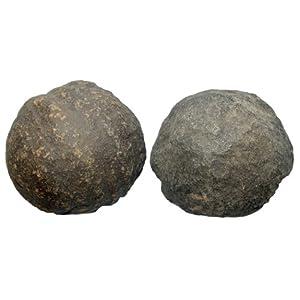 1 Paar Moqui Marbles lebende Steine ca. 18 – 22 mm aus den USA.(2921)