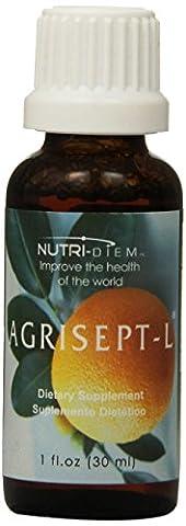 nutri-diem Inc. agrisept L Antioxydant 30ml (29,5) 6bouteilles