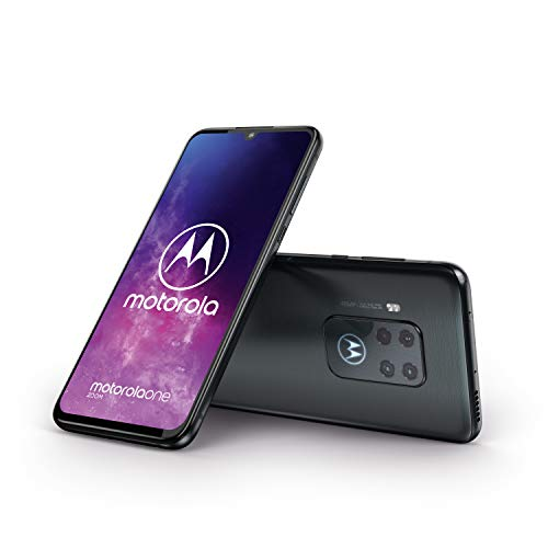 Motorola One Zoom 6.4 Inch FHD+ Display, Quad Camera System, 128 GB/4 GB, Android 9, Dual SIM UK Smartphone, Electric Grey Img 2 Zoom