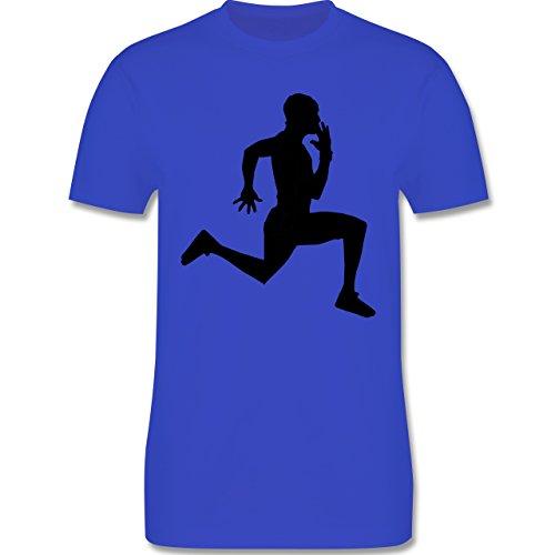 Laufsport - Läufer - Herren Premium T-Shirt Royalblau