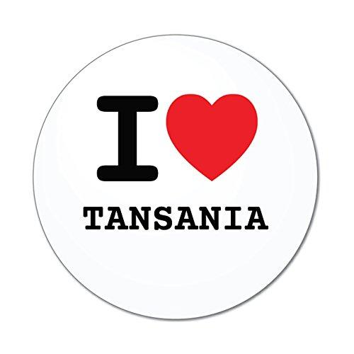 Preisvergleich Produktbild JOllify Aufkleber - TANSANIA – Farbe: Design: I love - Ich liebe