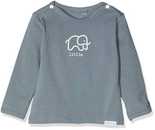 Noppies Unisex Baby U Tee ls Amanda Elephant T-Shirt, Grün (Dark Green C185), 74