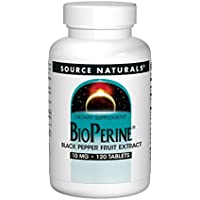 Source Naturals, BioPerine, 10mg, 120 Veg. Tabletten preisvergleich bei billige-tabletten.eu