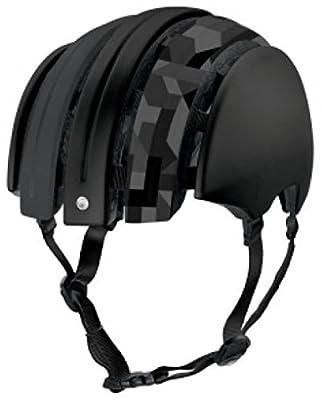 Fahrradhelm Foldable GTE Unisex black shiny camo