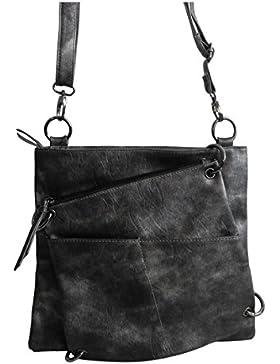 schicke 2 in 1 Handtasche von Jennifer Jones - Umhängetasche , Damen-Tasche , Shopper , Schultertasche , Abend-Tasche...
