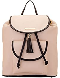 Lapis O Lupo Women's Backpack Handbag(Off White,Llbp0004Ow)