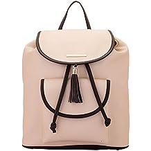 Lapis O Lupo Women's Backpack Handbag(Off White,Llbp0004Ow)