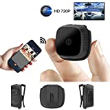 Mini Camera Micro WiFi IP Night Vision 720P Camera HD Video Recorder Detection Android P2P Wearable Cam Sport Outdoor Motion