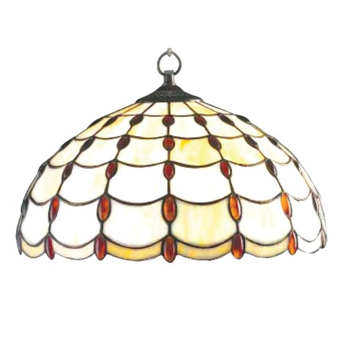 Amber Glass Jewel (jul16p240cm Bernstein Juwel Design Tiffany Stained Glass Anhänger)