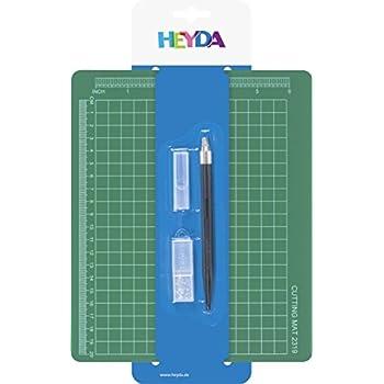 Baier & Schneider Olfa Tapis de découpe (Bureau) à découper Set 19x 23cm, Blister Pack à suspendre, 190x 230m