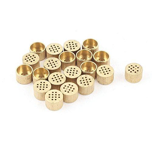 sourcingmapr-20-pz-scatola-nucleo-bocchette-di-rilascio-aria-foro-in-ottone-8mm-x-5mm