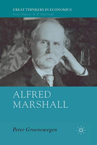 Alfred Marshall: Economist 1842-1924