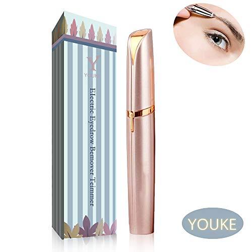 Augenbrauen-Epilierer-Trimmer, Tragbarer Lippenstift-Entwurfs-Frauen Schmerzloser Haar-Entferner, AAA-Batterie nicht Enthalten