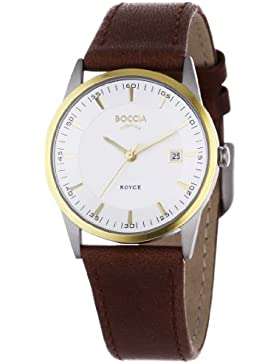Boccia Damen-Armbanduhr Mit Lederarmband Dress 3184-02