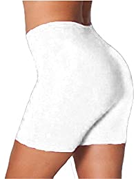 b2bc8ee36f87b2 Oops Outlet Womens Stretchy Hot Pant Leggings Dancing Cycling Tights Shorts Plus  Size