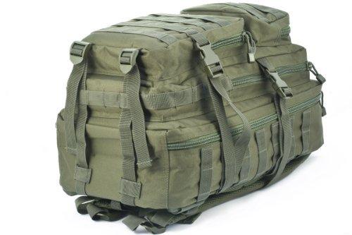 Imagen de mil tec–military army patrol molle assault pack– táctica bolsa 36l verde oliva alternativa