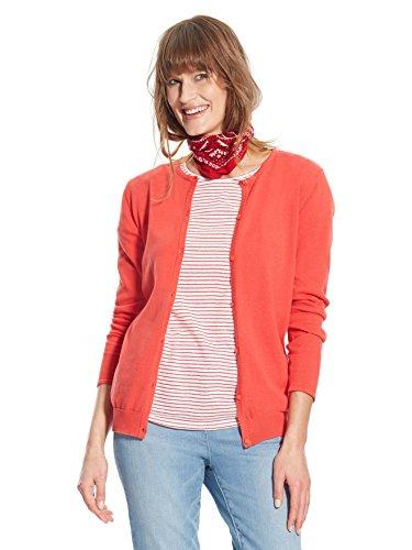 Balsamik - Cardigan scollo rotondo - donna - Size : 42/44 - Colour : Rosso