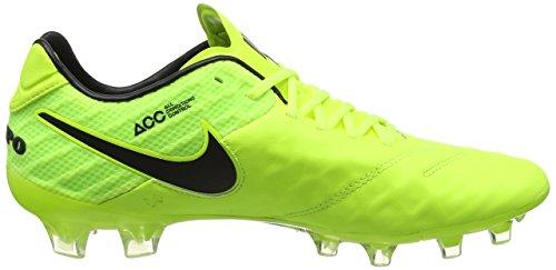 Nike - Tiempo Legend Vi Fg, Scarpe da calcio Uomo Giallo (Volt/black-volt)