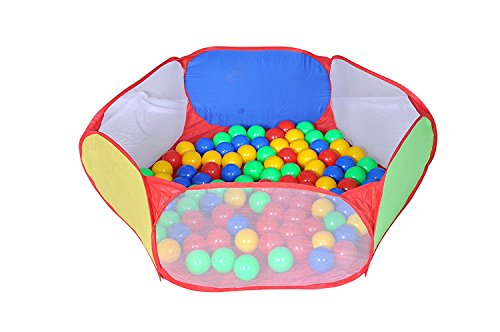 Magicwand® Large Size Hexagonal Wonder Ball Pool with 50 Free Balls