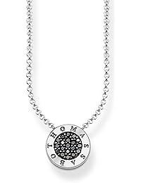 Thomas Sabo Women-Necklace Love Bridge 925 Sterling Silver 18k rose gold plating Length from 40 to 45 cm LBKE0004-415-12-L45v Km7vdH7H9u