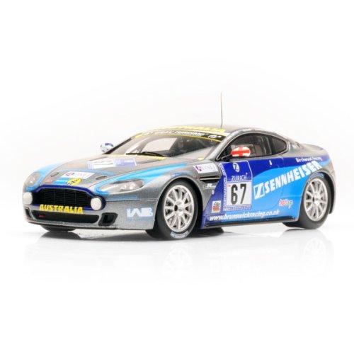 Minichamps 437101367 Aston Martin Vantage V8 24H Nurburgring 2010 Auto Da Gara Scala 1/43