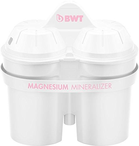 BWT 814139 1 Stück Filterkartusche Magnesium Mineralizer für Tischwasserfilter, 1 x 120 L gefiltertes - Wasser-filter-flasche Britta