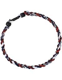 Titanium Ionic Germanium Sports Baseball Necklace 16/18/20/22 inch 3- Seil Halskette