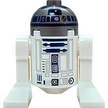 LEGO Star Wars: Minifigur Astromech Droid R2-D2 with Metallic Head (2016 Design)