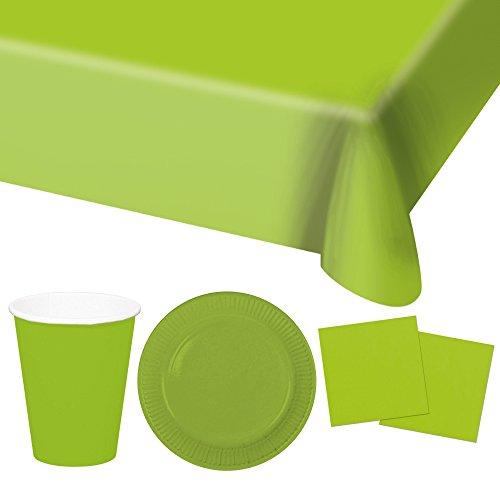 ygeschirr Set Freie Farbwahl - 37 Teile (Grün) ()