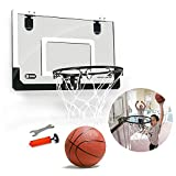 Mini Basketball Hoop With Ball Indoor Outdoor Toy Set King sport 18 Zoll x 12 Zoll Shatterproof Backboard Mini
