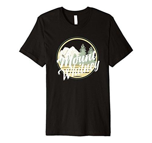 Mount Whitney T Shirt Retro Vintage Stil Kleidung & Apparel