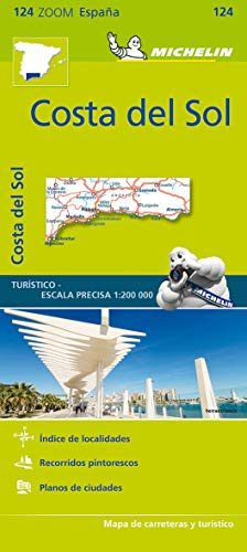 Costa del Sol Zoom Map 124 Mapas Zoom Michelin