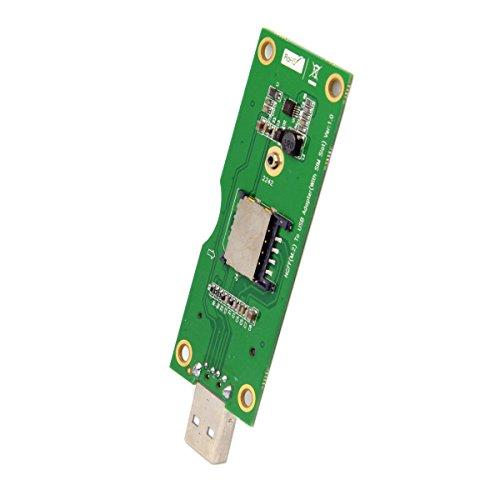jser m.2NGFF Wireless WWAN auf USB Adapter Karte mit SIM Card Slot Modul Testen Tools (Sim-karte-usb-adapter)